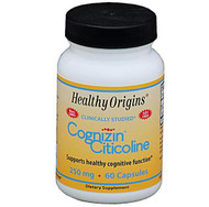 Healthy Origins Cognizin 250mg 60 veg caps