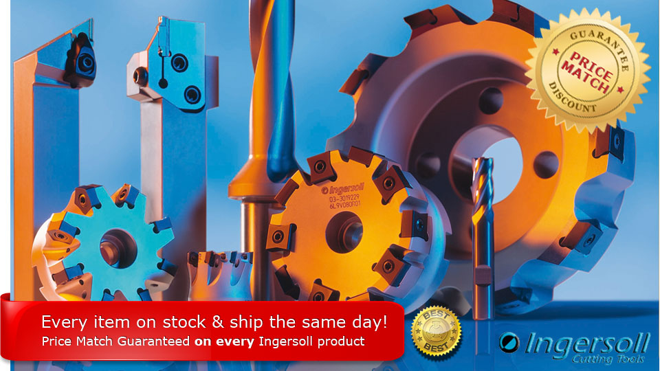 Ingersoll Cutting Tool at a promotional price - Dont miss it!
