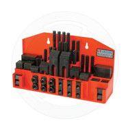 Vertex, Milling, Clamping Kit, 52 pcs, Slot 1/2 inches, Stud 3/8 inches, CK-103B, 1003-010