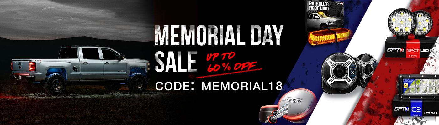 OPT7 Memorial Day Sale
