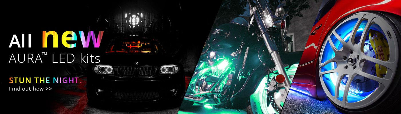 Motorcycle Automotive Glow Lights