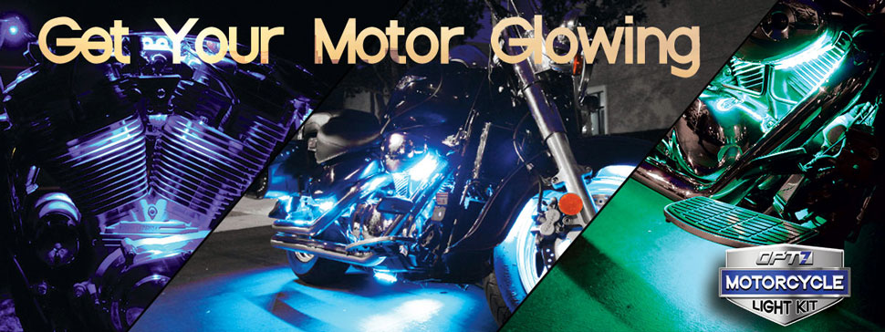 aura motorcycle glow kit cruisers