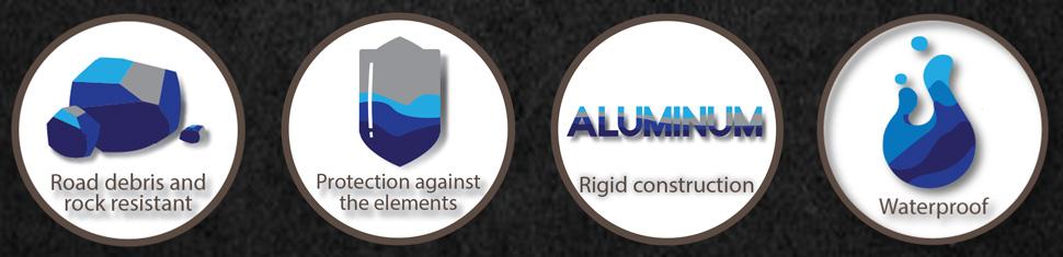 aura underbody light kit features