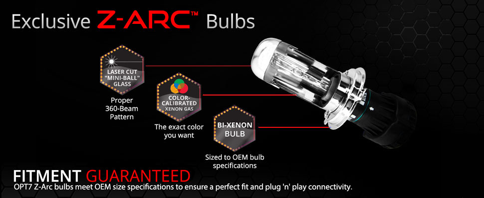 z-arc xenon hid bulbs