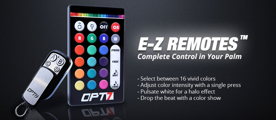 remote for underbody lights