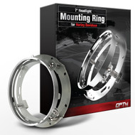 7-Inch LED DayMaker Headlight Mounting Ring Bracket for Harley Davidsons