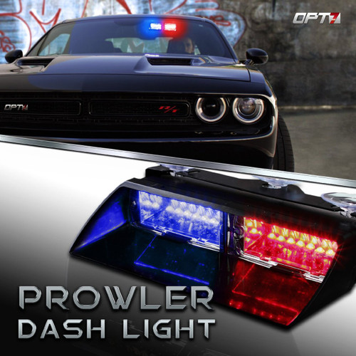 Prowler emergency led dashboard light bar opt7 prowler emergency led dashboard light bar aloadofball