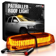 Patroller Emergency Amber LED Roof Light Bar