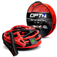 heavy duty Python Quick-Start 1-Gauge Booster Jumper Cables