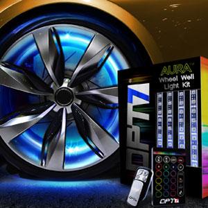 car wheelwell lights