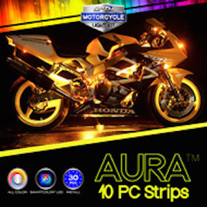 motorcycle aura light kit