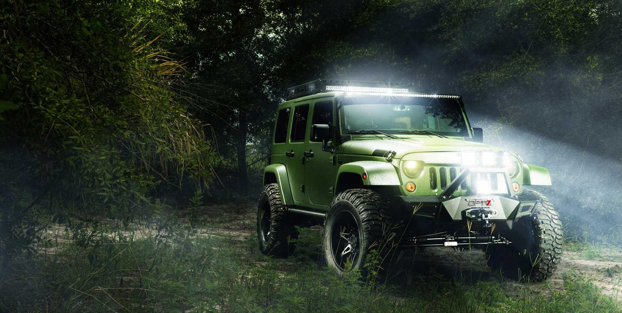 off-road lights off road LED lights on & OPT7 - LED u0026 HID Lighting for Cars Trucks u0026 Motorcycles azcodes.com