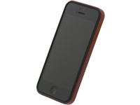 Flat Bumper Metallic Red for iPhone 5