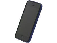 Flat Bumper Metallic Blue for iPhone 5