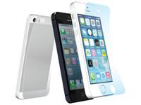 Shock-absorbing Crystal Film set for iPhone SE 5s/5