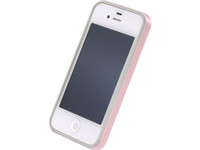 Flat Bumper Pearl Pink for iPhone 4/4s
