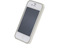 Flat Bumper Pearl White for iPhone 4/4s