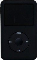Silicone Jacket Black for iPod Classic