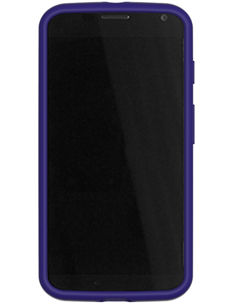 Grip for Moto X, front, purple
