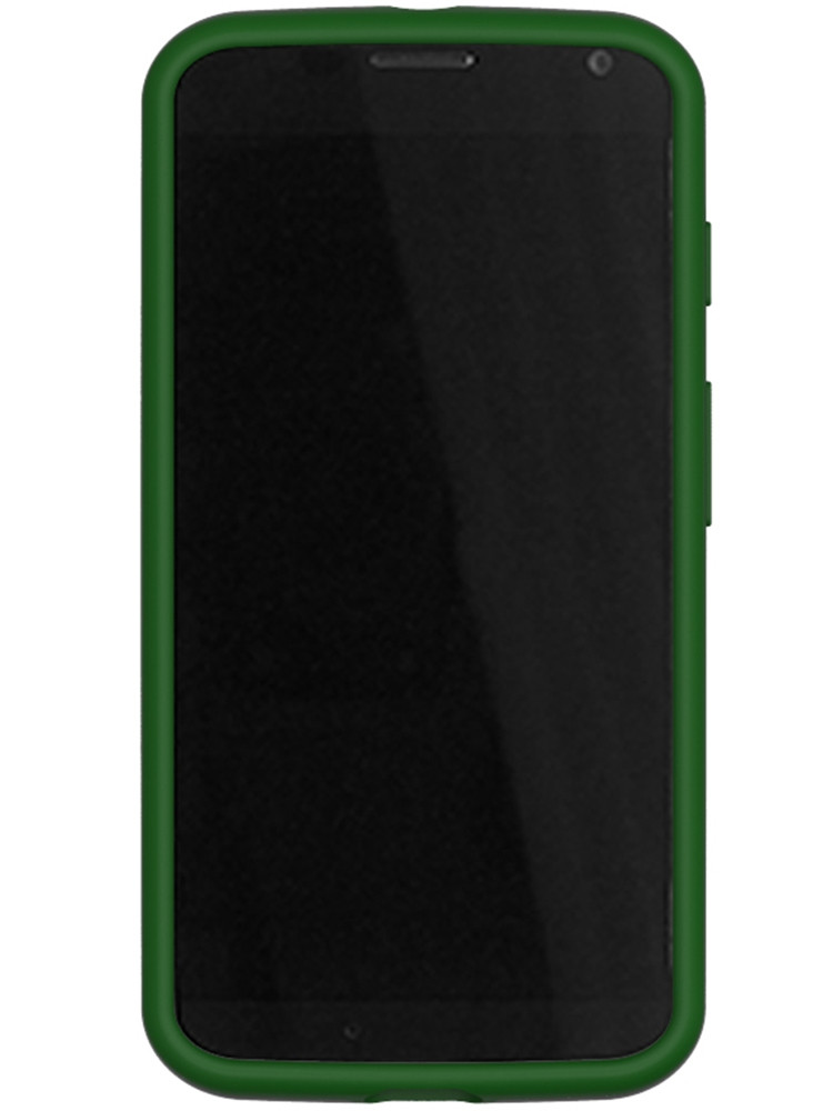 Grip for Moto X, front, Hunter Green