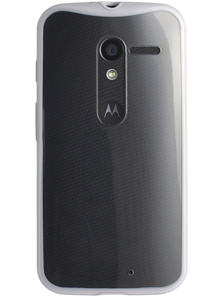 Grip for Moto X, back, grey