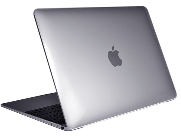 "Air Jacket Clear for MacBook 12"" open"