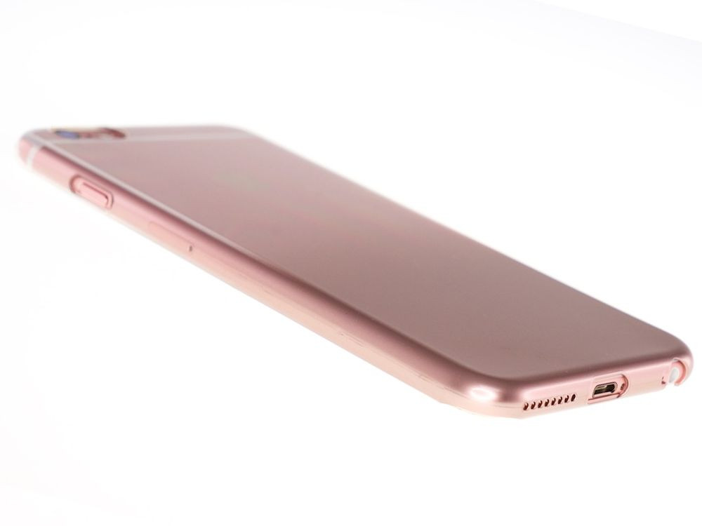 Air Jacket for iPhone 6s/6 Gradation Rose Gold side