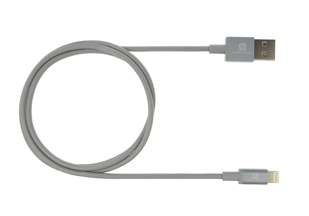 Gray USB Lightening Cable 2m