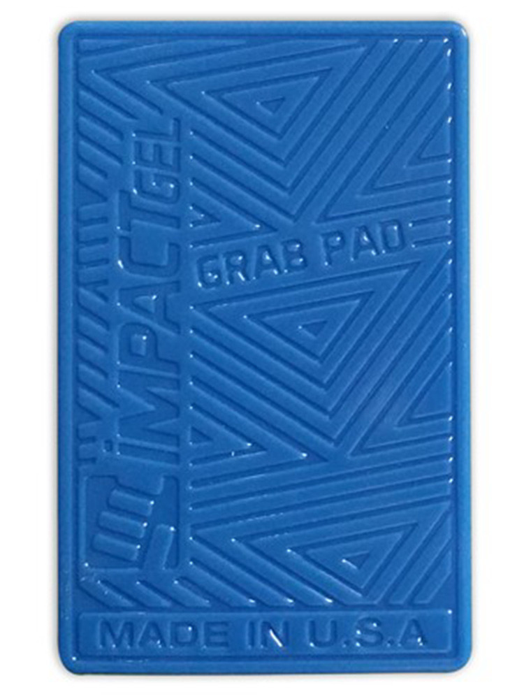 Impact Gel Grab Pad mobile iPhone holder Blue