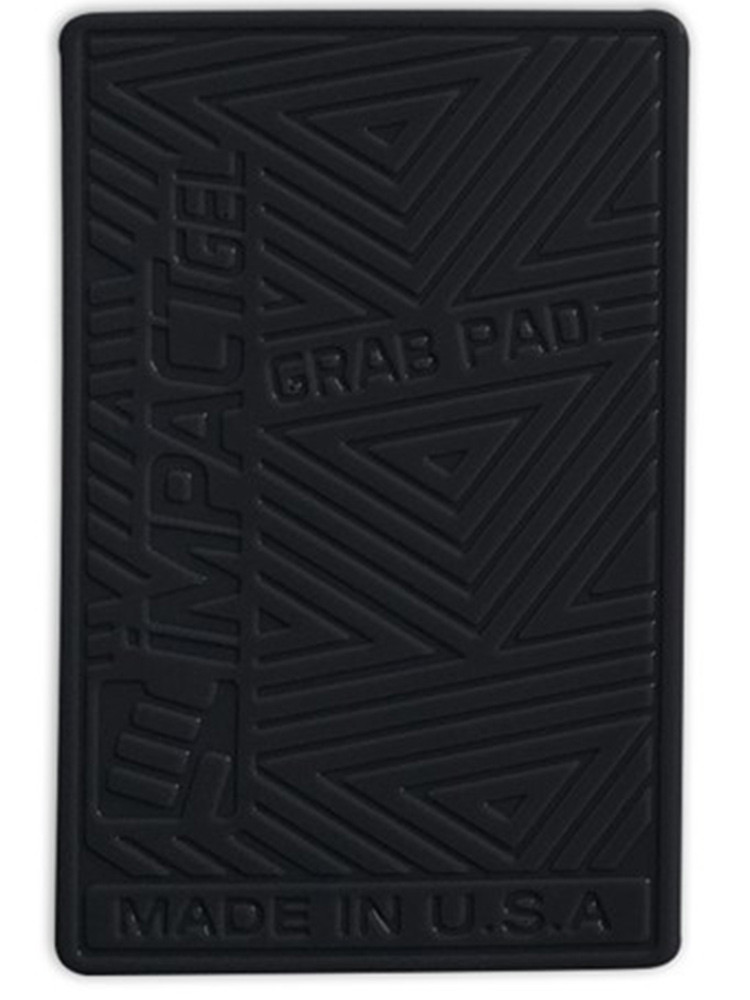 Impact Gel Grab Pad mobile iPhone holder Black