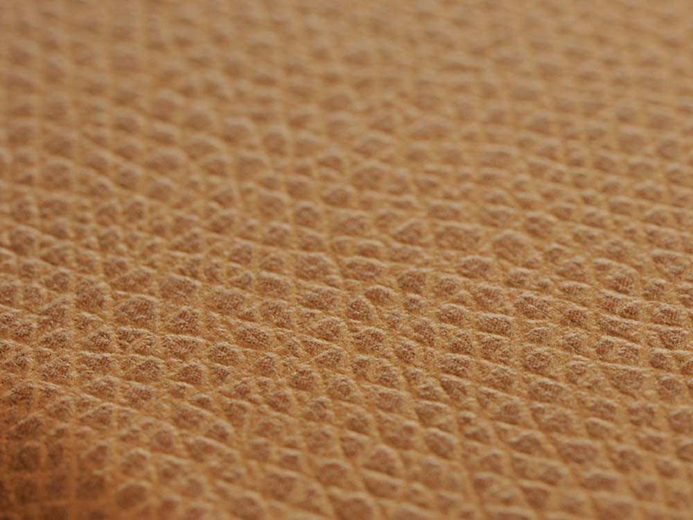 Flip Jacket for iPhone 7 Plus Embossed Leather  Texture Camel