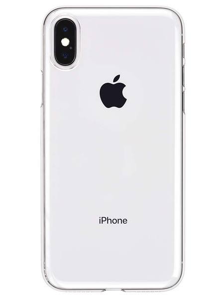 Air Jacket Clear with iPhone X