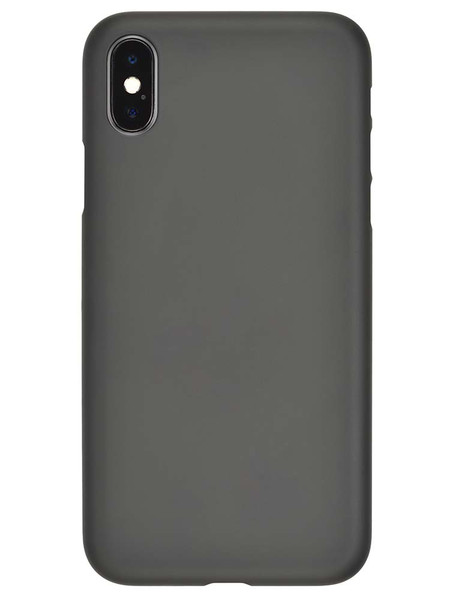 Rubber Black Air Jacket with iPhone X