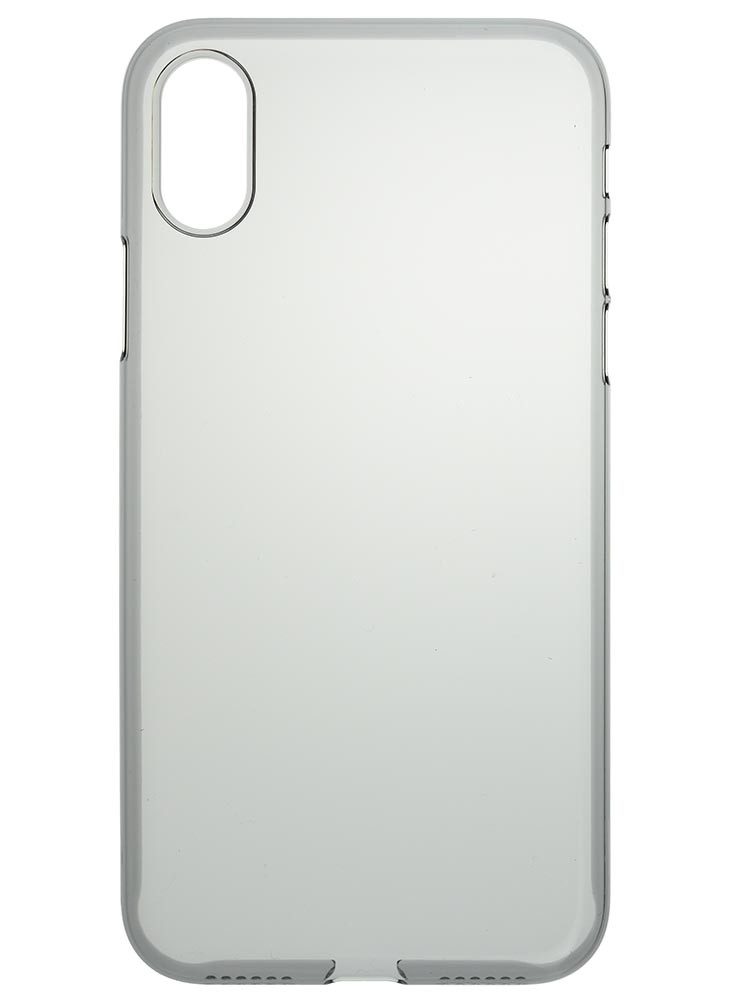Air Jacket for iPhone X Smoke