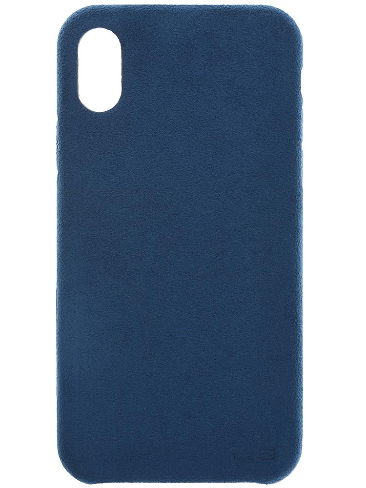 Ultrasuede Air Jacket for iPhone X Blue Back