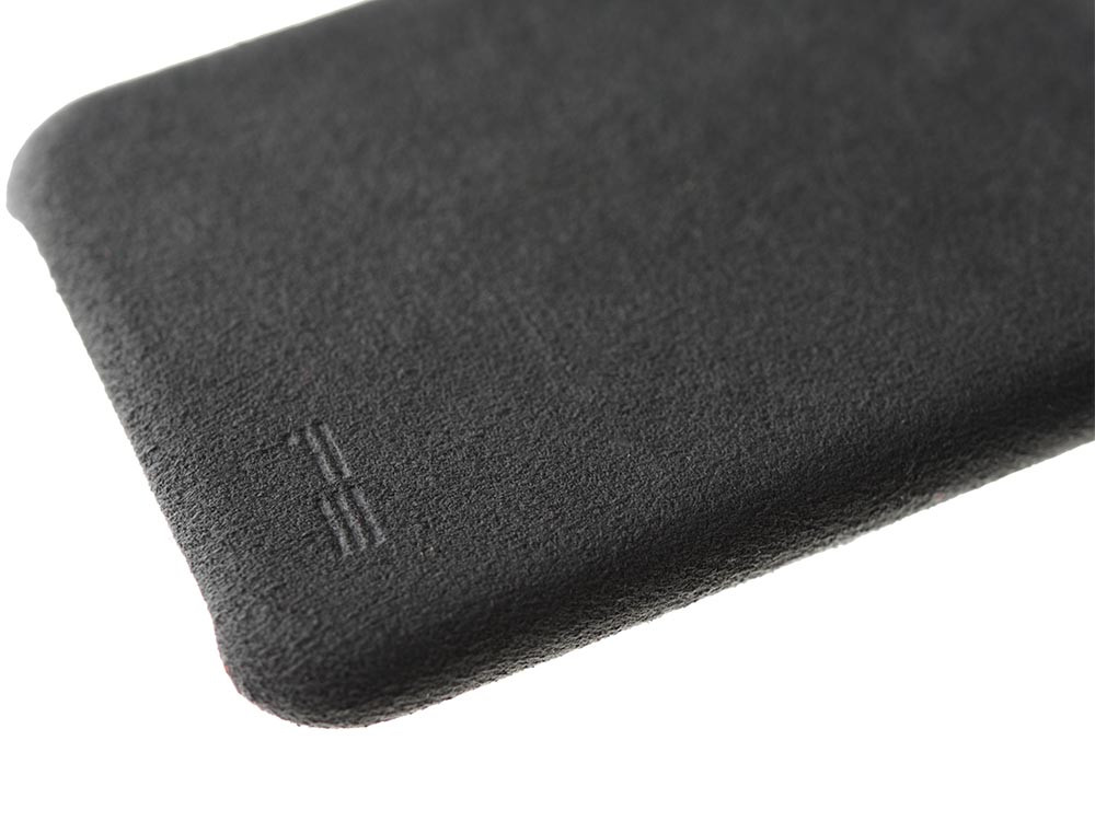 Ultrasuede Air Jacket for iPhone X Asphalt