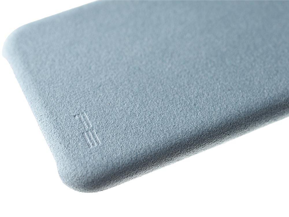 Ultrasuede Air Jacket for iPhone X Sky
