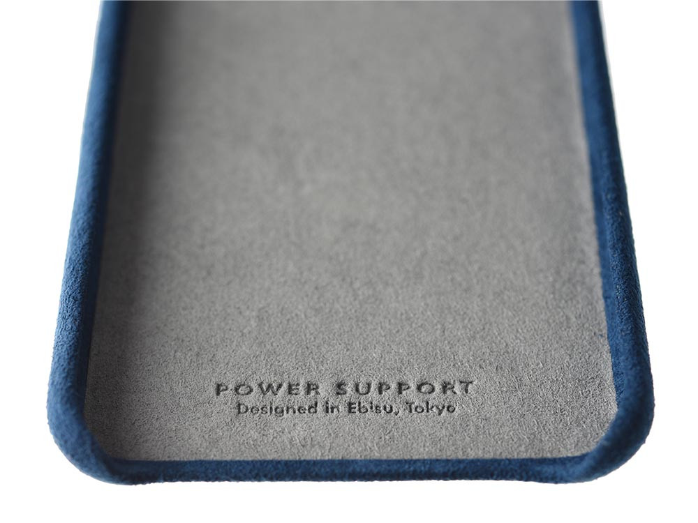 Ultrasuede Air Jacket for iPhone X Blue inside