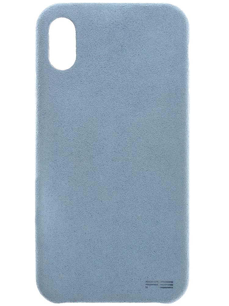 Ultrasuede Air Jacket for iPhone X Sky Back