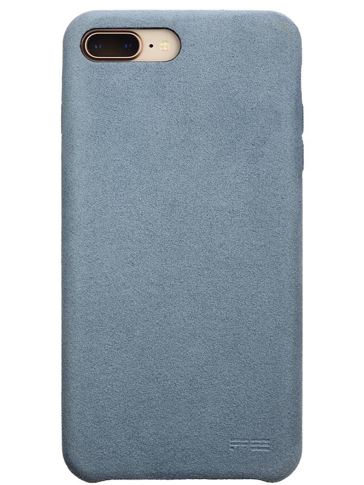 Ultrasuede Air Jacket for iPhone 8 Plus Back Sky