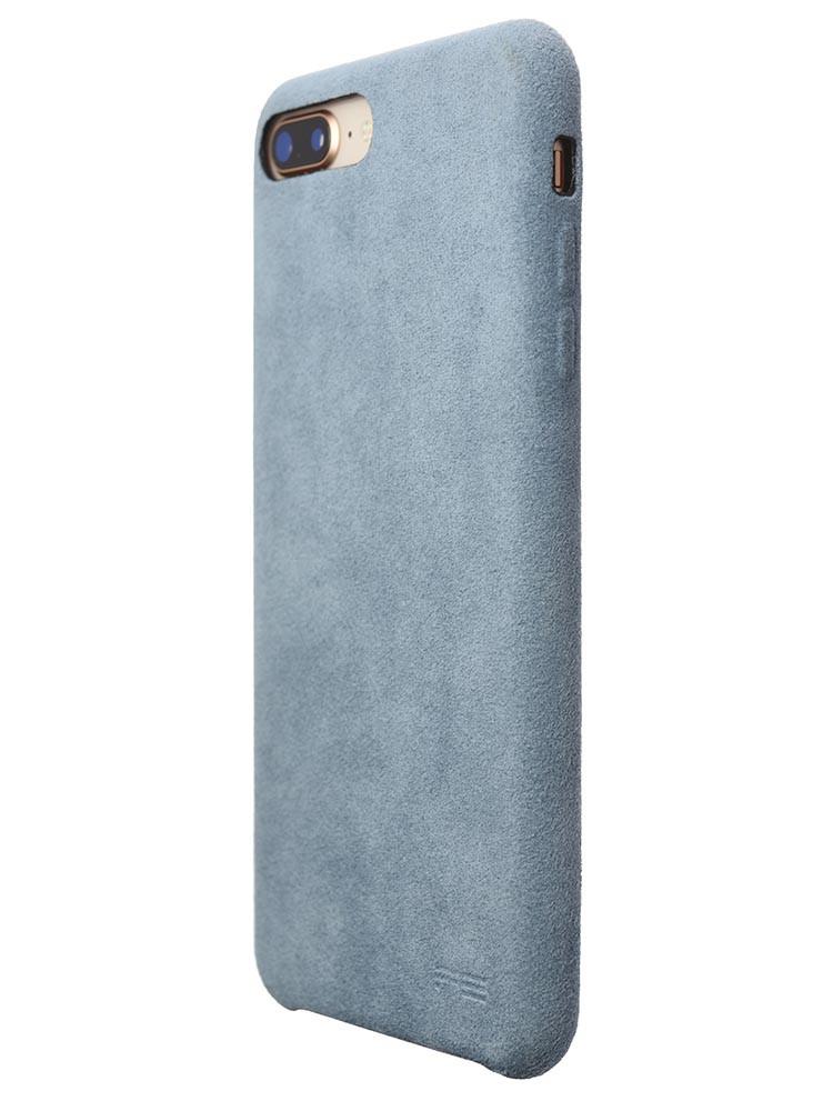 Ultrasuede Air Jacket for iPhone 8 Plus Back Side Sky