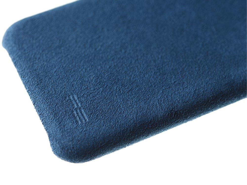 Ultrasuede Air Jacket for iPhone 8 Plus Detail Blue