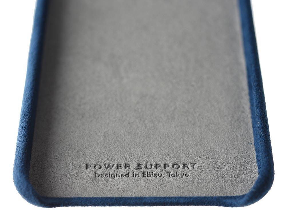 Ultrasuede Air Jacket for iPhone 8 Plus Inside Blue