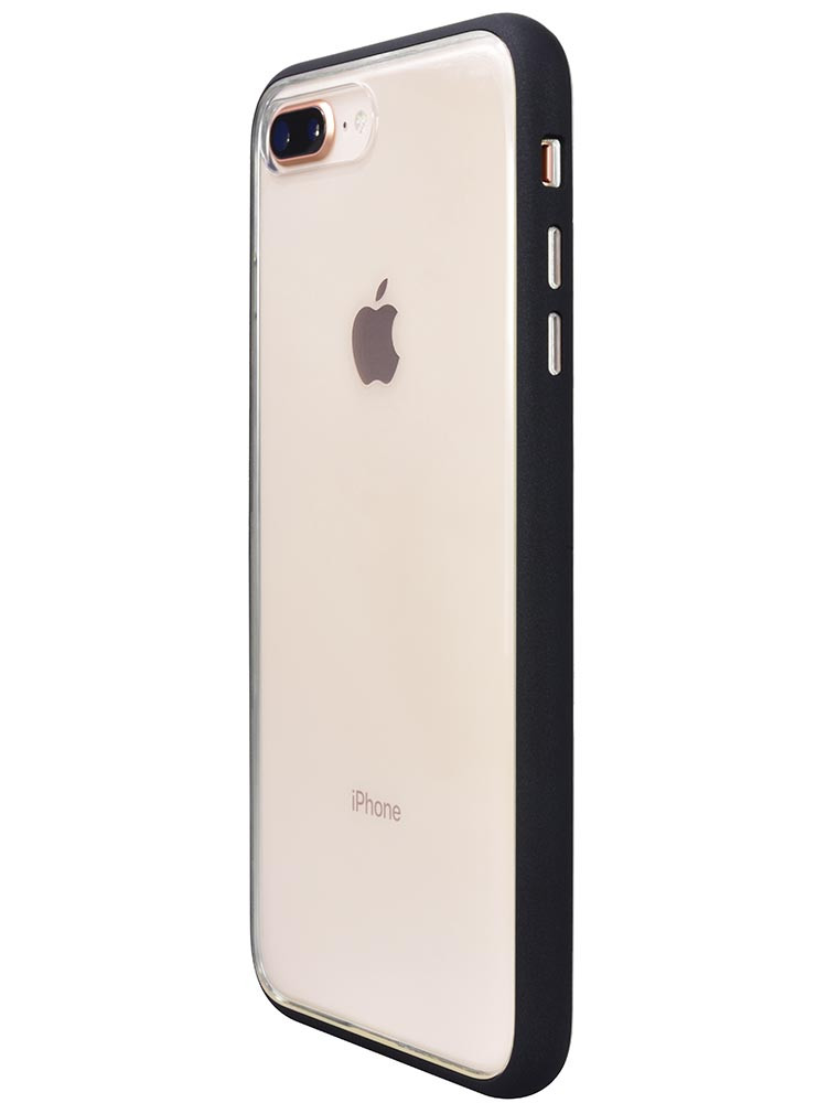 Shock Proof Air jacket for iPhone 8 Plus Side Rubber Black