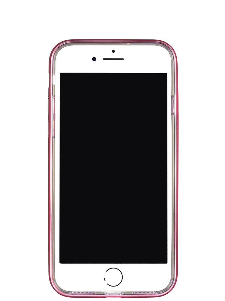 Shock Proof Air jacket for iPhone 8 Front Rubber Red