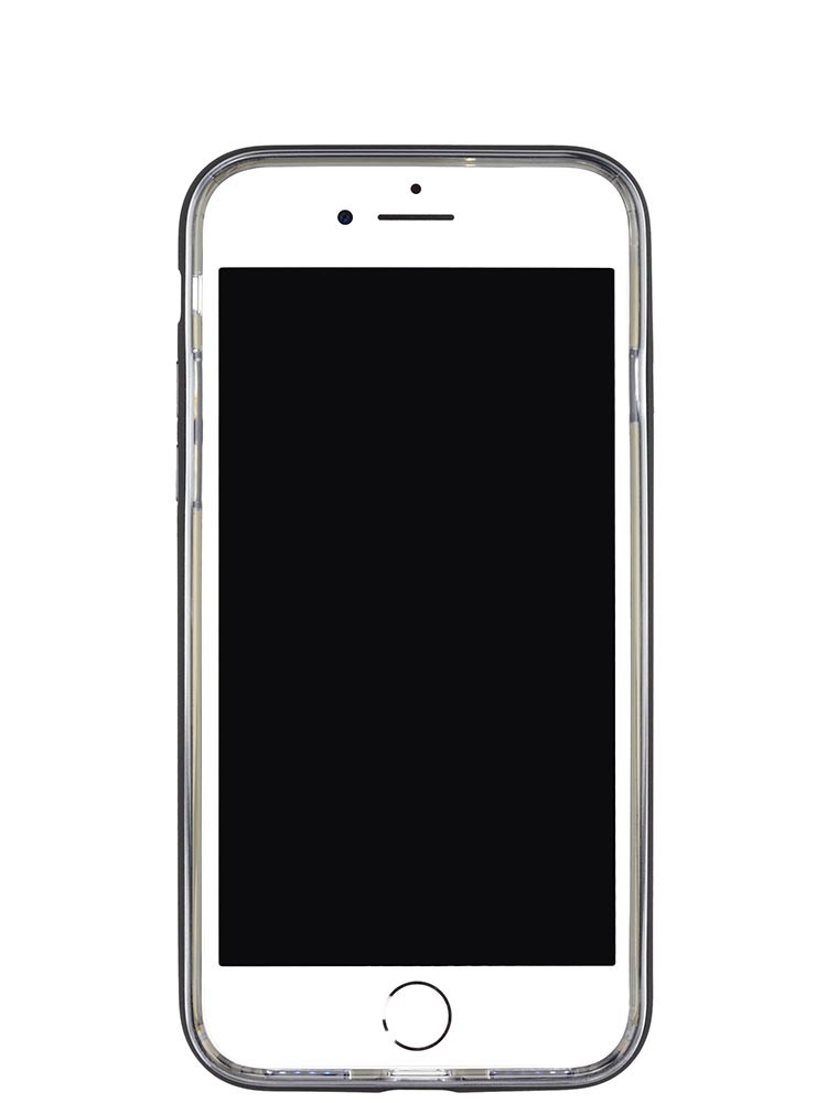 Shock Proof Air jacket for iPhone 8 Front Rubber Black
