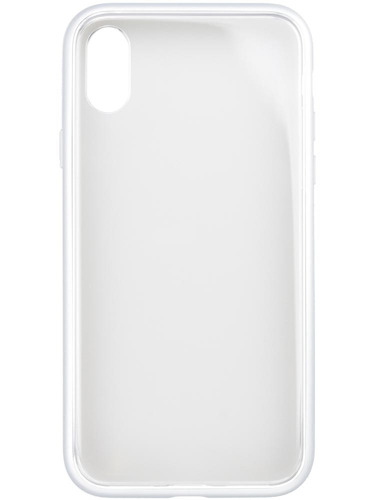 Shock Proof Air Jacket for iPhone X Rubber Silver