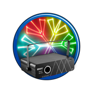 The Rainbow Box 1000 Animated Laser Light WEEKLY RENTAL
