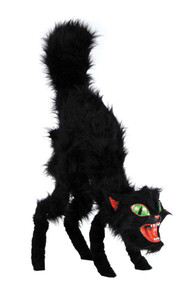 Black Giant Cat Halloween Prop