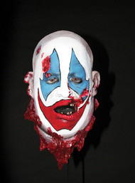 Clown Head Halloween Prop